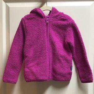 Girls Gap brand full zip hoodie